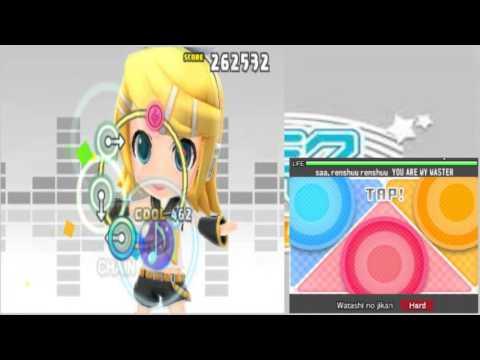 3DS - Hatsune Miku: Project Mirai DX (Perfect Run, Hard) Watashi no jikan