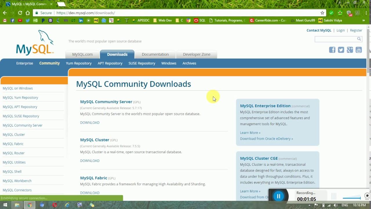 Mysql скачать для сервера