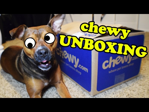 unboxing-of-chewy-dog-toys---dog-toy-review