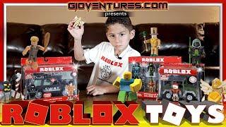 ROBLOX TOYS Unboxing and Review - Roblox HQ Visit - Jazwares Visit Recap