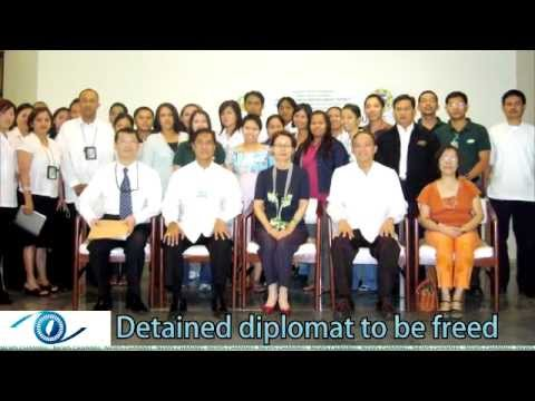 Detained diplomat to be freed