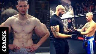 """""""Popeye"""" ruso debutó en MMA y perdió a los 4 minutos"""