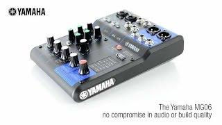 Yamaha MG06 Compact Analog Mixing Console