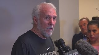 Gregg Popovich Reacts To Kawhi Leonard Trade To Raptors For DeMar DeRozan!