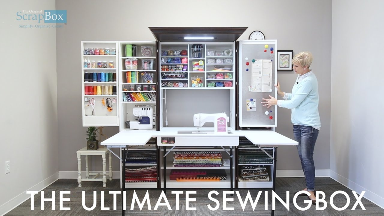the ultimate sewingbox youtube. Black Bedroom Furniture Sets. Home Design Ideas