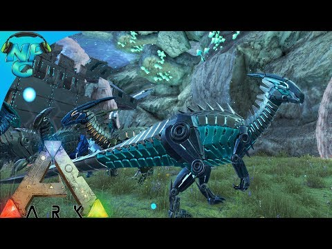 Raid Nerd Parade  Under Water Bubble Build, Robo Yoshi and The Jewel of the Ocean! ARK Survival