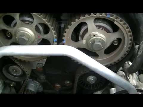Timing Belt Replacement Chevrolet Kalos Aveo Part 3 Youtube
