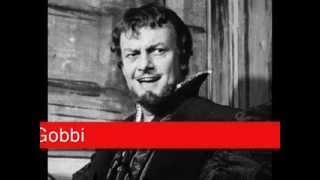 Tito Gobbi: Verdi - Otello,