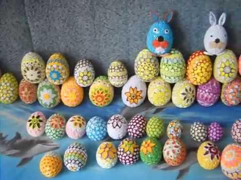 Bardzo dobryFantastyczny Pisanki wielkanocne quilling / Eggs quilling - YouTube VA59