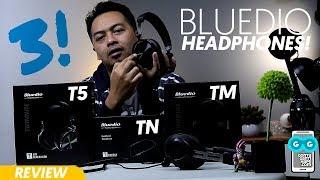 MULAI DARI 200-RIBUAN: Bluedio Headphones: T5, T Energy (TN) & T Monitoring (TM) - QUICK REVIEW!
