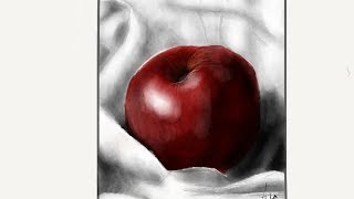 How to draw an apple with: Paper by 53