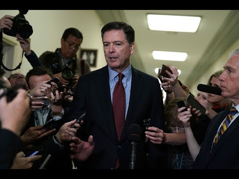 News Wrap: House committees interview Comey privately