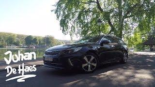 KIA Optima Sportswagon GT 2017 / Walkaround / Exterior shots / Interior shots / GPS