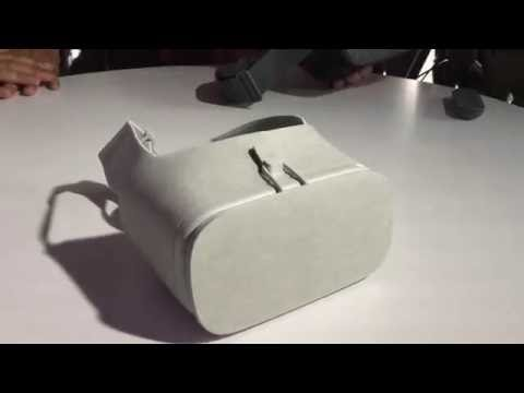 Google Daydream View VR headset (first hands-on)