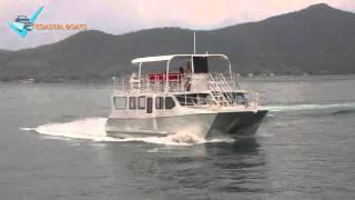 10.85 meter Aluminum Catamaran Ferry