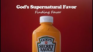 Found Favor - Pastor Terry Linscott