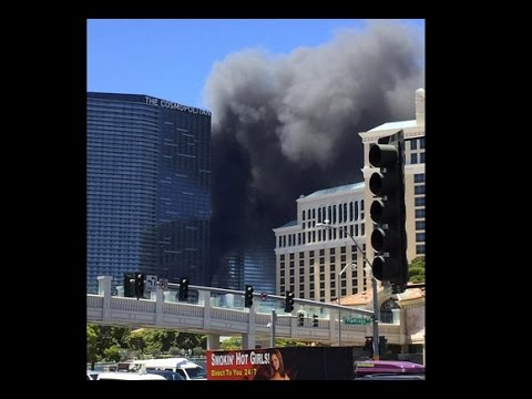 Cosmopolitan Las Vegas Hotel Fire At Pool Level