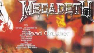 MegadetH - Head Crusher Live Big Four Sofia 2010