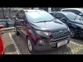 In Depth Tour Ford Ecosport Titanium AT (2015) - Indonesia
