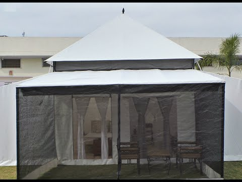 Eco Luxurious Tents for sale, manufacturer & exporter| Swiss Cottage Tents Manufacturer|