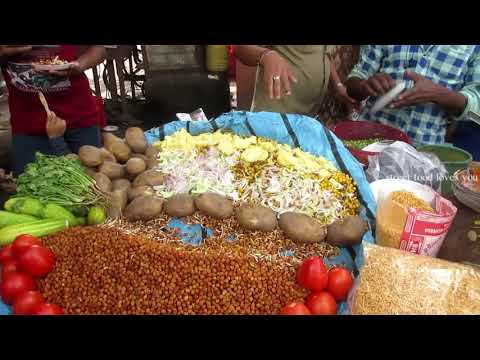 Indian Street Food | Hot Sour Chana Masala | Street Food Of Kolkata - Awesome Street Chaat for All
