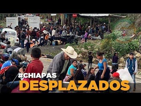 Resultado de imagen para Desplazados indígenas de Chiapas: la otra caravana