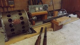 homemade simple Wood Lathe