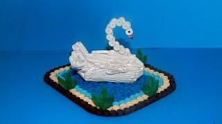 3d quilling swan