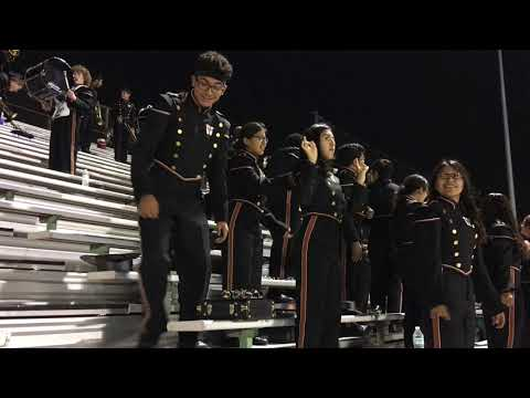 W T White High School Band 2017 Game 9 part 2