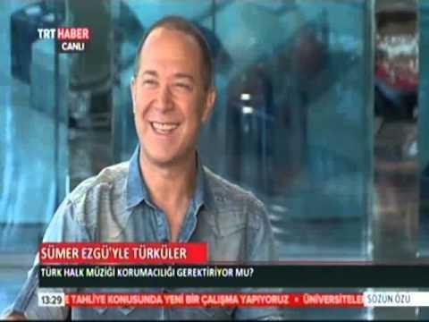 """Sümer Ezgü - TRT HABER """"SÖZÜN ÖZÜ"""" PROGRAMINDAN (2) Electro Türkü House albümü üzerine..."""
