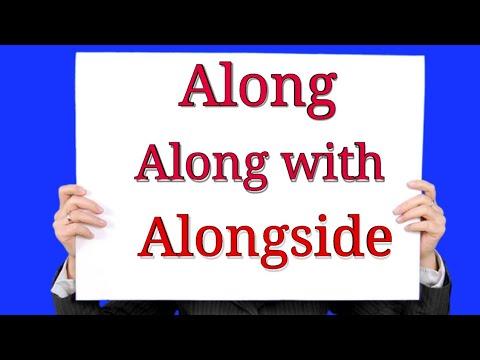 Spoken English Class in Malayalam use of Along/Along with/Alongside/
