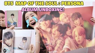 BTS 방탄소년단 MAP OF THE SOUL : PERSONA ALBUM & POSTER UNBOXING! 방탄 앨범 언박싱
