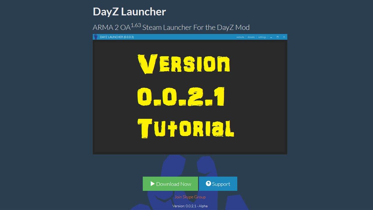 DayZ Launcher Version 0.0.2.1 Full Install Tutorial - YouTube  DayZ Launcher V...