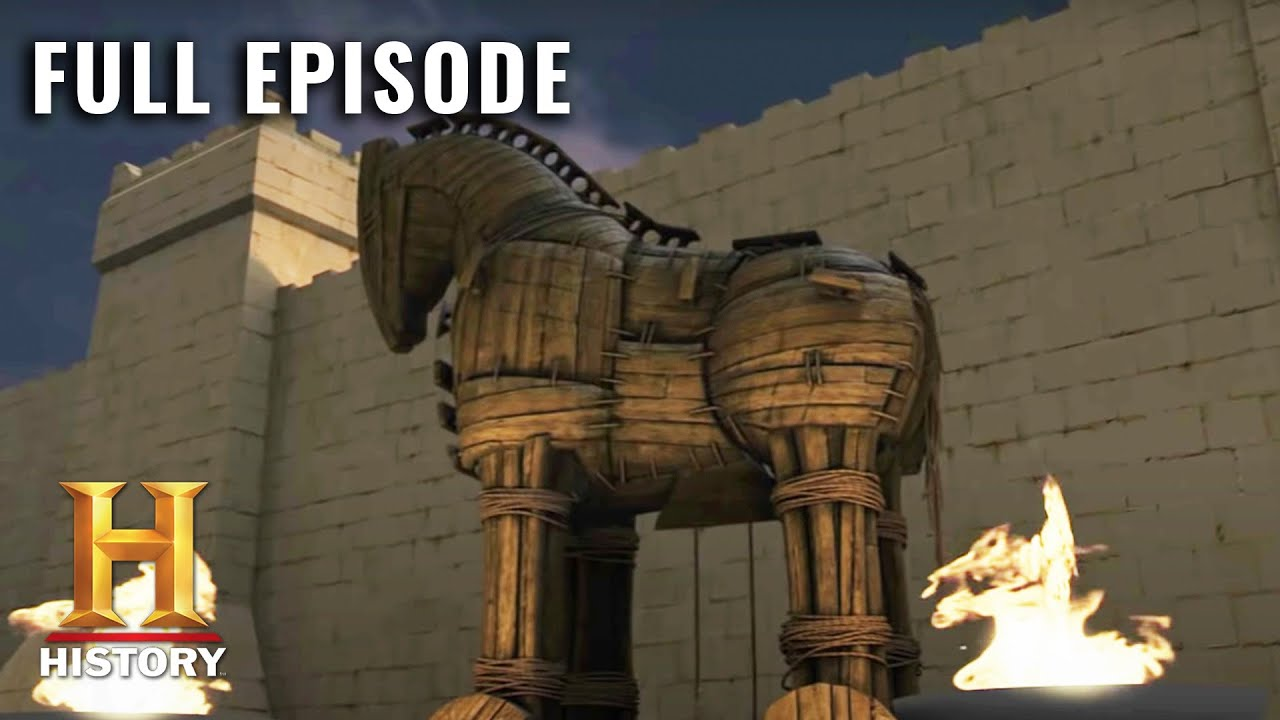 The Epic Siege of Troy   Ancient Discoveries (S3, E1)   Full Episode   History