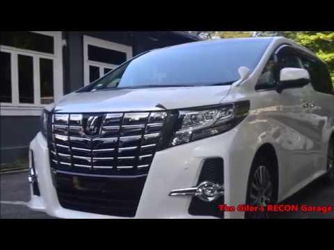 TOYOTA ALPHARD SC 2016 WHITE - For Sale Malaysia