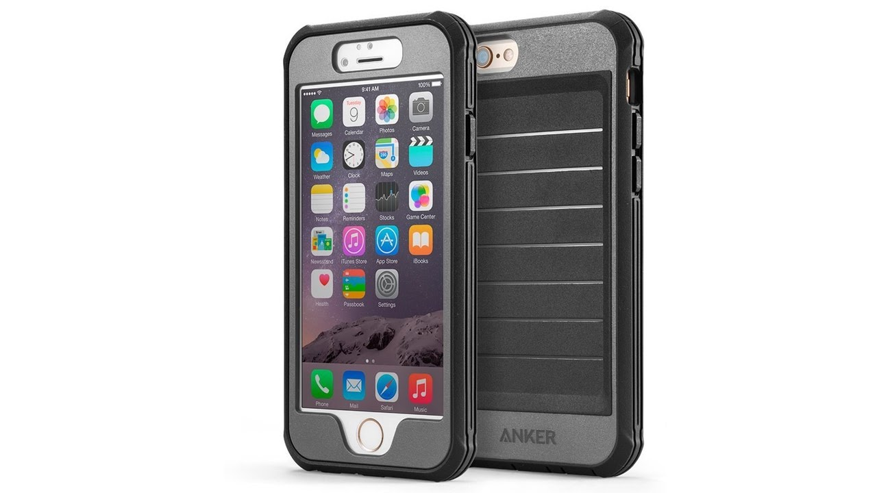 Iphone  Plus Case With Built In Screen Protector