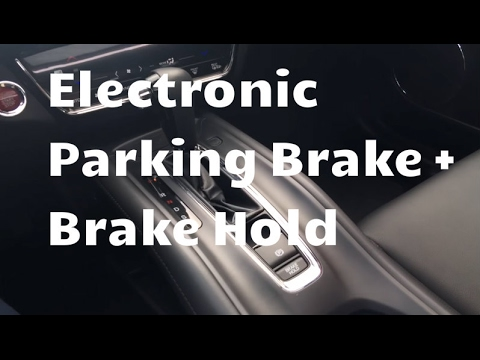 Electronic Parking Brake & Brake Hold Tutorial | Whitby Oshawa Honda