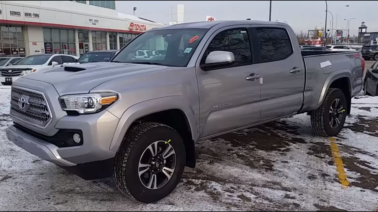 2016 Toyota Tacoma Double Cab Trd Review With Detailed Features You