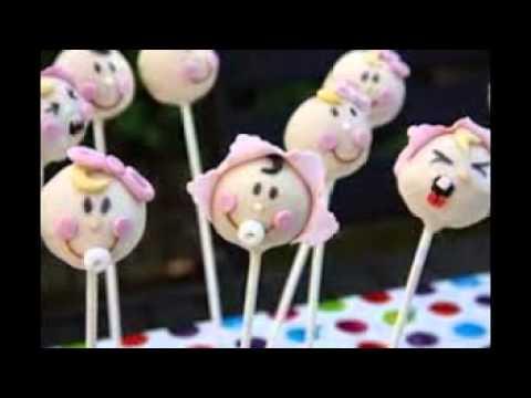 Baby Shower Cake Pops Recipe