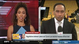 Stephen A. Smith REACTIONS: Lakers, Lue at impasse & Preview: Celtics vs Bucks | ESPN SportsCenter