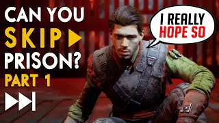 Can You Avoid Prison in Star Wars Jedi: Fallen Order?