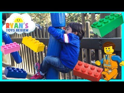 Playground for Kids at LegoLand Amusement Park