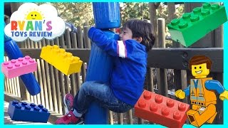 Playground for Kids at LegoLand Amusement Park
