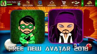 free new avatar  in 8 ball pool || صورتانا خرافيتان اتمنا ان تعجبكم