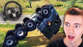 Meu Maior Acidente De CaminhÃo!!! - Euro Truck Simulator 2 + G27