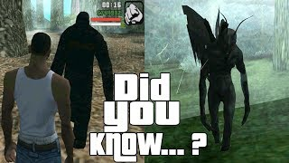 GTA San Andreas Secrets and Facts 8
