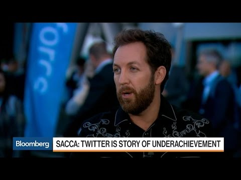 Sacca: Twitter Underachieving, I'm Hoping for Acquisition