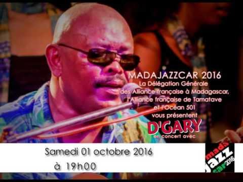 D'Gary en concert MADAJAZZCAR