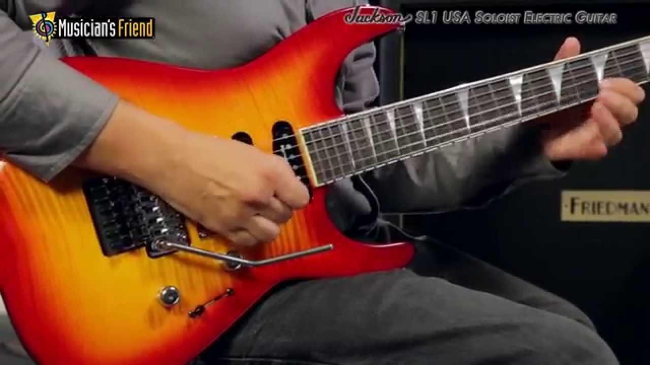 SL1 USA Soloist Electric Guitar Black Jackson Guitar Wiring Diagram Pro Fusion on