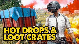 PUBG // Hot Drops & Loot Boxes All Night // Battlegrounds  Live Stream Gameplay